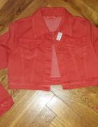 Nowa czerwona Katana bluza jeans R Display XL