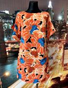 dorothy perkins sukienka jak nowa modny wzór kwiaty 36 S...