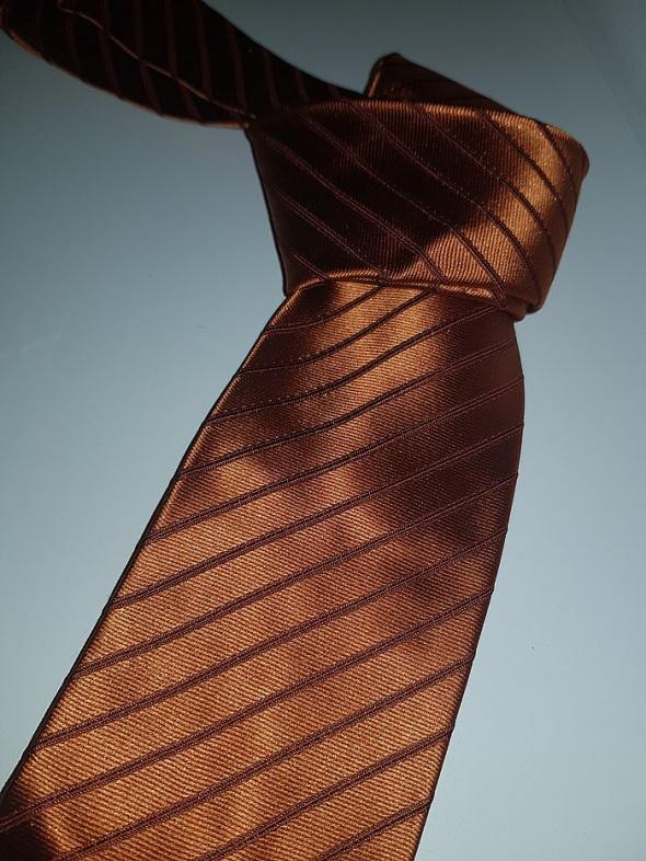 Krawat Bugatti Nanotie jedwab