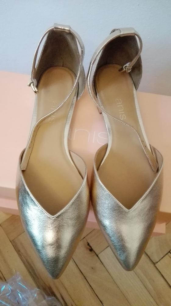 Sandały Złote buty ANIS model GABI 40