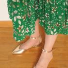 Złote buty ANIS model GABI 40