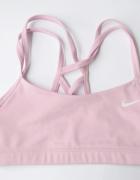 Stanik Sportowy Nike Dri Fit XS 34 Różowy Róż Sportowy...