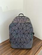 Plecak nowoczesny odblaskowy plecaczek