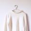 Kremowa bluza polarowa sweter oversize z golfem ecru półgolf...