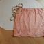 Koronkowa różowa spódnica mini Suiteblanco