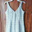 Letnia sukienka Oasis kratka błękitna...