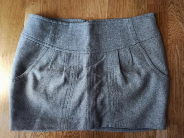 Mini spódnica szara Reserved...