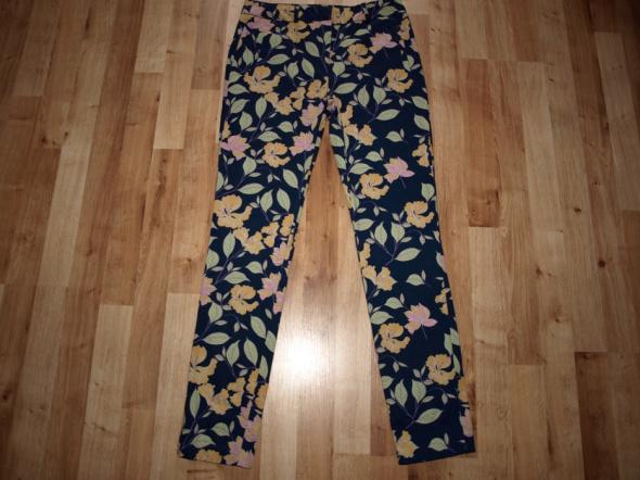 Spodnie floral S M...