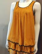 Żółta sukienka H&M 36