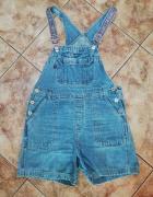Jeansowe ogrodniczki L XL...