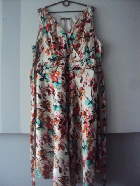 zakładana sukienka...