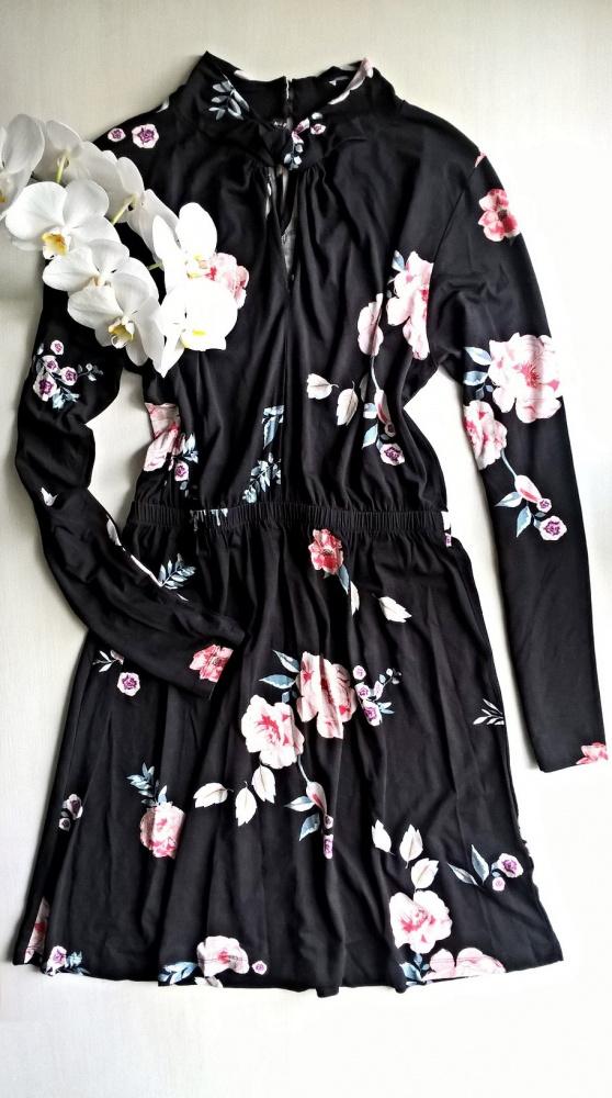 Sukienka w kwiaty flower wiskoza M L