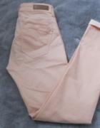 spodnie rurki Tally Weijl 38 łososiowe...