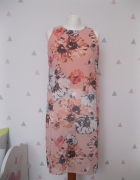 bluzka long kwiaty sisterS point M łososiowa...