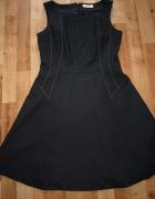 Granatowa sukienka S...