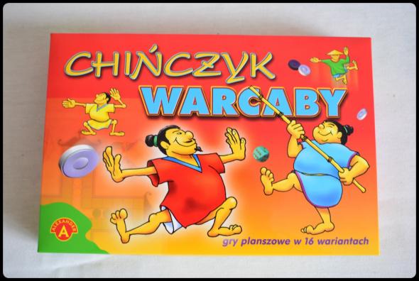 gra Warcaby i Chińczyk jak nowa raz zagrana