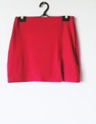 Różowa spódniczka dla dziewczynki trapezowa mini róż...