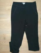 Cygaretki eleganckie czarne spodnie 34 H&M...