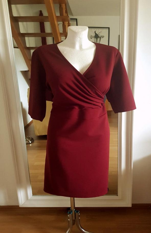 sukienka kopertowa góra 48