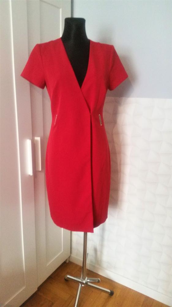 Czerwona sukienka Mohito nowa