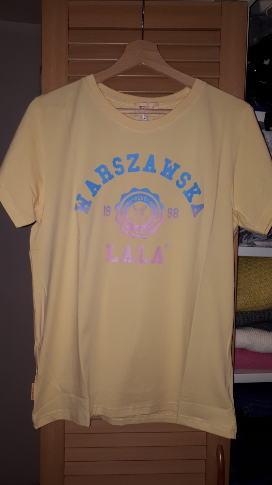 Nowa koszulka Plny Lala Warszawska LALA Sunny