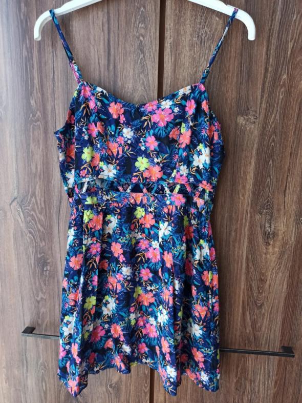 Sukienka mini kwiecista H&M S...