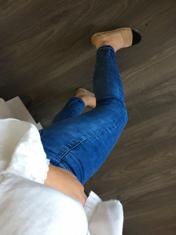 Jeansowe rurki Lee Scarlet W27 L31