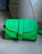 Zielona neonowa torebka HIT...