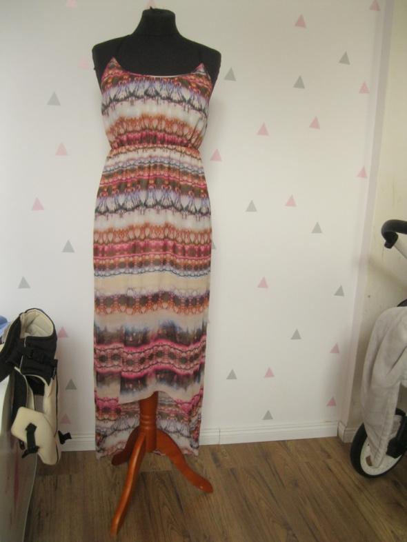 sukienka TOPSHOP 36 asymetryczna