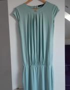 miętowa sukienka rozmiar 36...