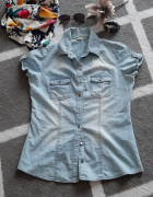 jeansowa koszula orsay rozmiar 38...