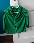 Zielony lekki sweterek