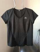 Czarny tshirt sportowy Kalenji Quechua 42
