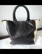 Reserved Torebka damska shopper A4 czarna...
