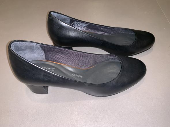 Rockport luxe czółenka czarne 36 buty obcas niski...