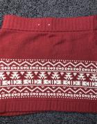 Spódnica Fishbone New Yorker 36 zimowa wełna...