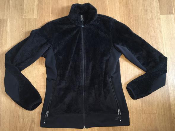 Bluzy Bluza narciarska druga warstwa XS czarna polar