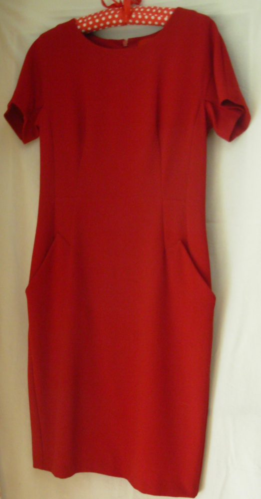 Czerwona sukienka Next 38...