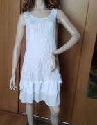 Włoska Sukienka Ażurowa