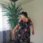 Sukienka maxi letnia kwiaty