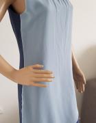 Niebieska sukienka marki Bon Prix...