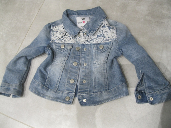 kurtka katana jeans YD 92 niebieska