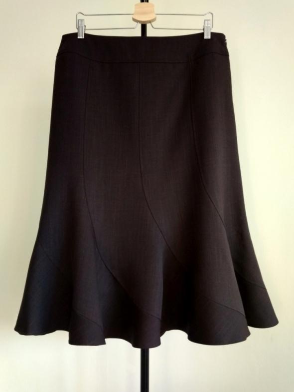Spódnice Nowa spódnica w kolorze czekoladowym rozmiar 44 46