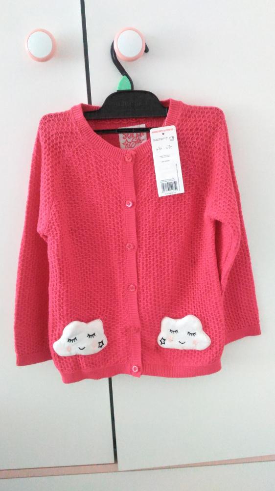 Nowy sweterek z chmurkami