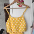 Nowa sukienka w grochy