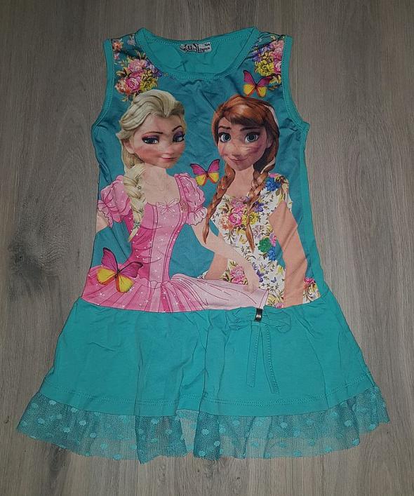 Sukienka Kraina lodu 104 cm