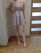 Sukienka we wzory h&m rozm 32...