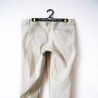 Beżowe spodnie rybaczki spodnie vintage basic