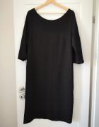 Suknia sukienka mała czarna rozm XL 44...