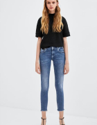 jeansy rurki zara nowe 34 xs...